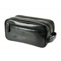 Мужской кожаный несессер Visconti MZ-100 - Naples (black)