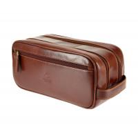 Мужской кожаный несессер Visconti MZ-100 - Naples (brown)
