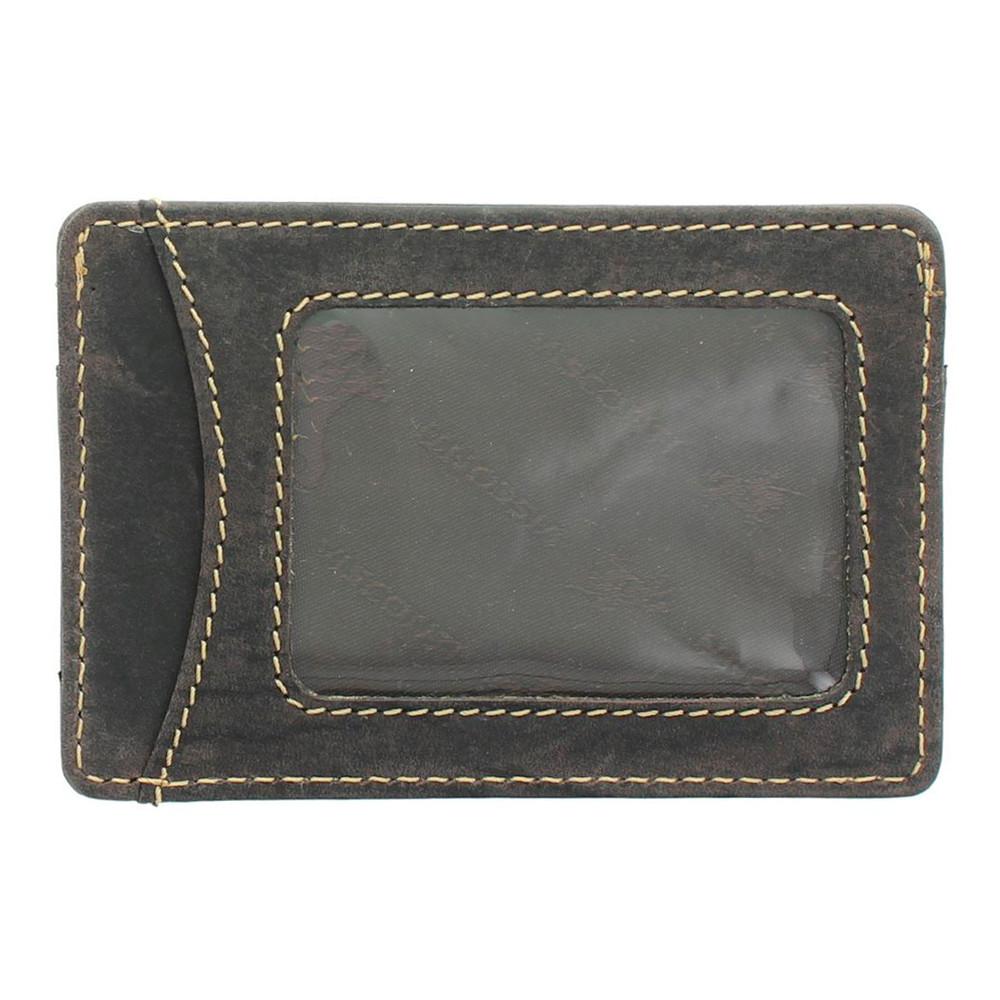 Кожаная кредитница Visconti VSL25 с RFID - (oil brown)