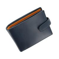 Мужской кожаный кошелек Visconti PM-100 -  Vincent (blue/must)