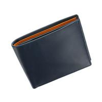 Мужской кожаный кошелек Visconti PM-101 -  Pablo (blue/must)