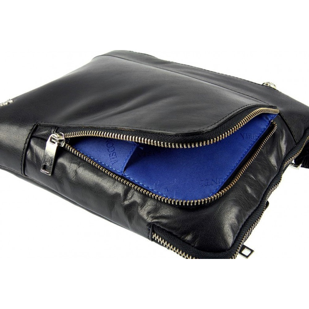 Мужская сумка через плечо Visconti ML20 - Roy (black)