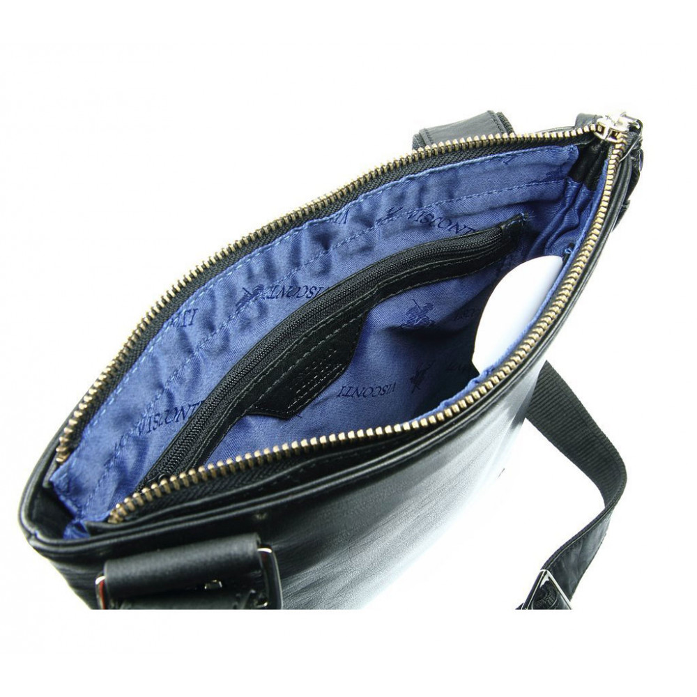 Мужская кожаная сумка Visconti ML25 - Taylor (black)
