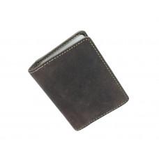 Кожаная кредитница Visconti VSL24 с RFID - (oil brown)