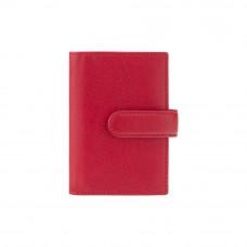 Кожаная визитница Visconti 484 - Gio (red)
