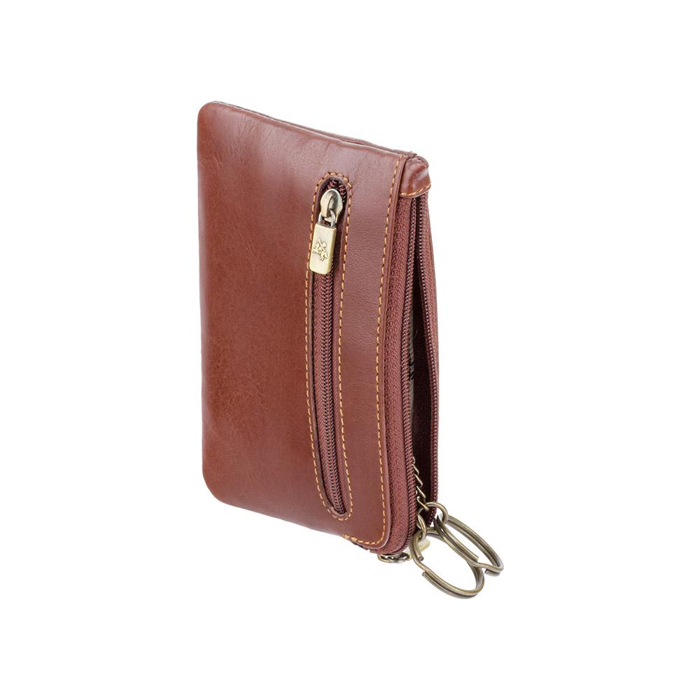 Кожаная ключница Visconti MZ19 - Geno (brown)