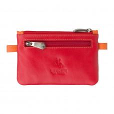 Кожная ключница Visconti CP2 Cora (Red Multi)