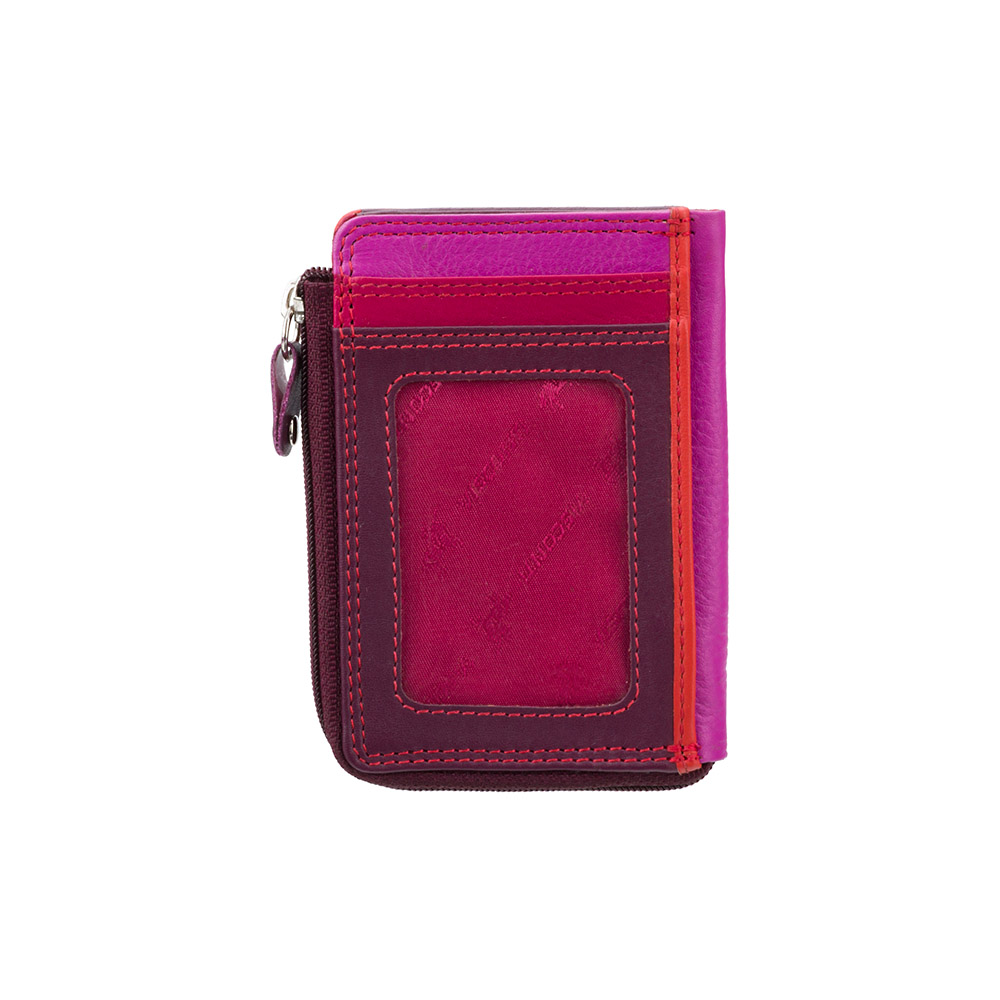 Маленький женский кошелек Vіsconti RB110 - Phi Phi (Plum Multi)