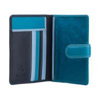 Кожаная обложка для паспорта Visconti RB75 Sumba (blue multi)