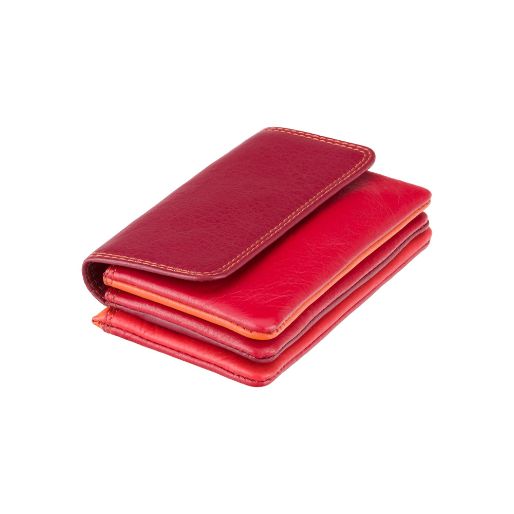 Кожная ключница Visconti RB99 - Tahiti (red multi)