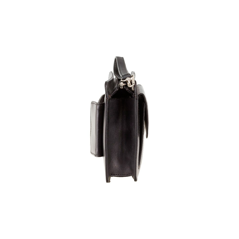 Мужская кожаная барсетка Visconti 02617 - Ted (black)