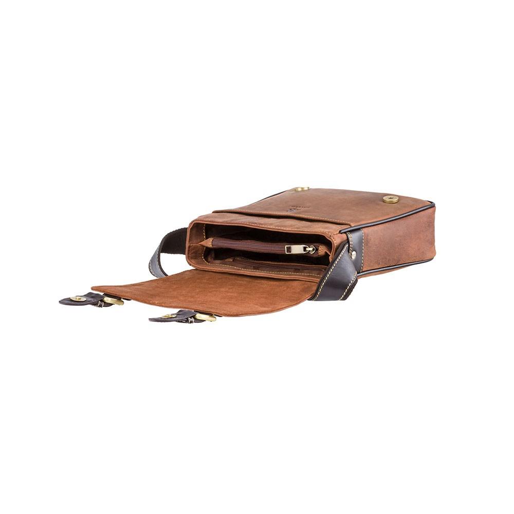 Мужская кожаная сумка Visconti 16012 - Rumba (Oil Tan)