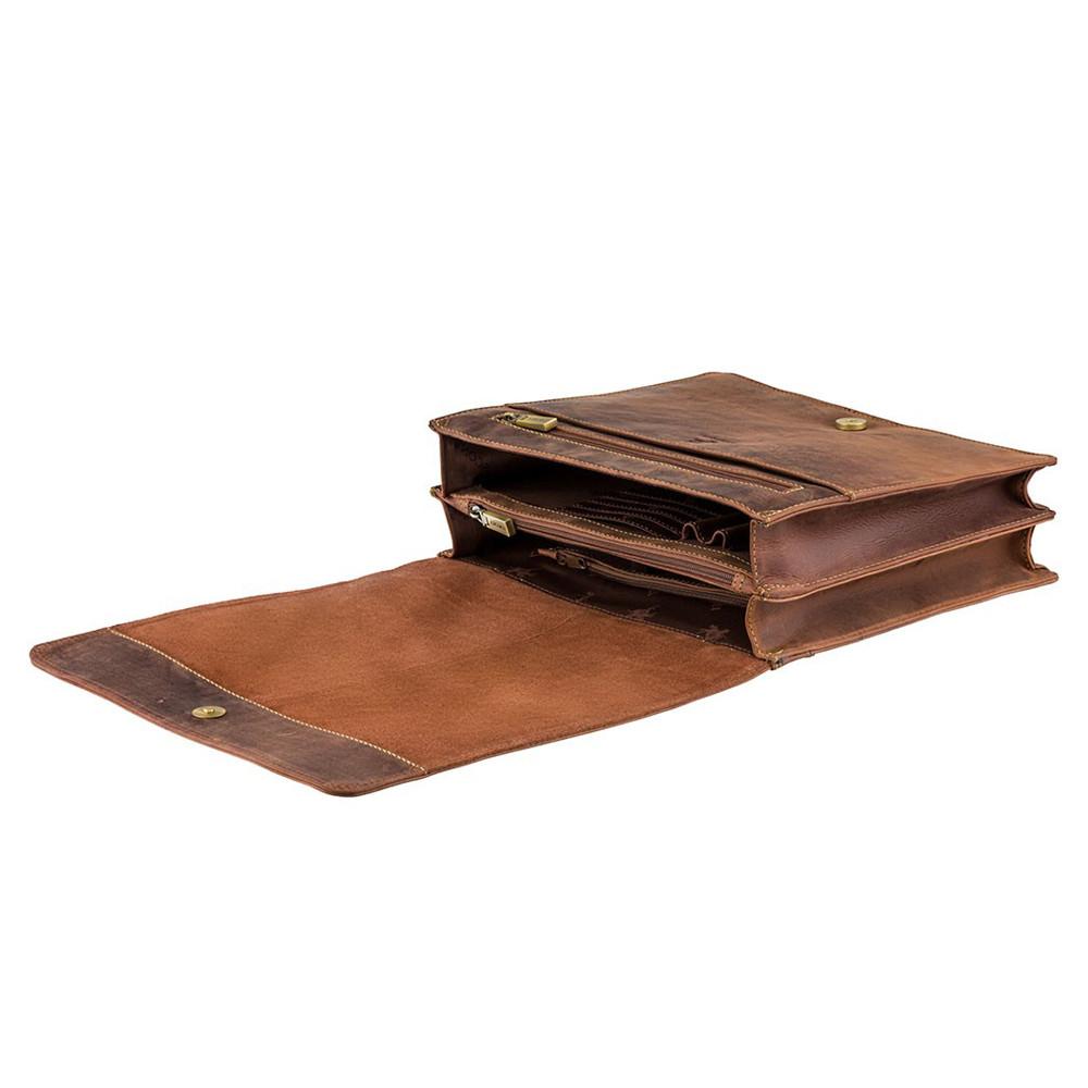 "Сумка-мессенджер для ноутбука 13"" Visconti 16072 – Foster (Oil Tan)"