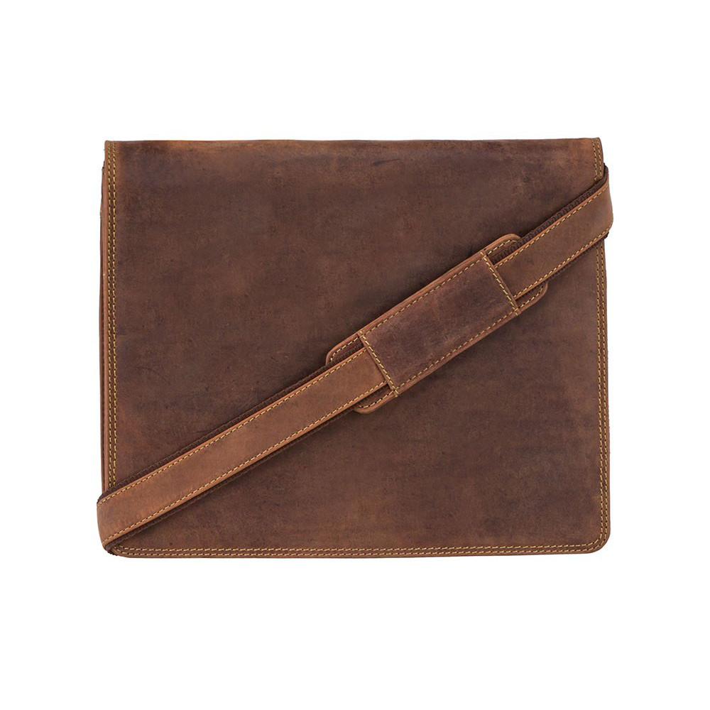Мужская сумка-мессенджер Visconti 16025 – Harvard-М (Oil Tan)