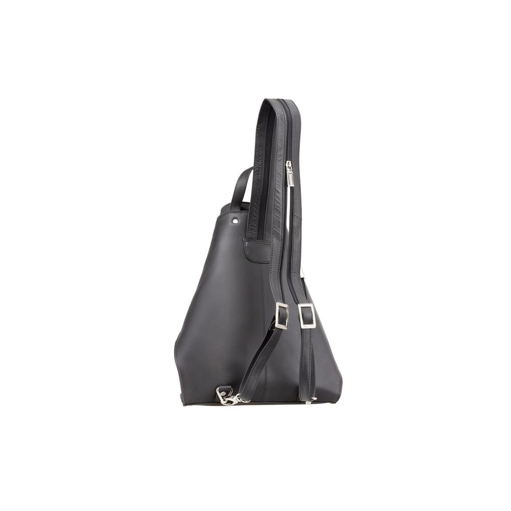 Кожаный рюкзак Visconti 18258 - Brooke (black)