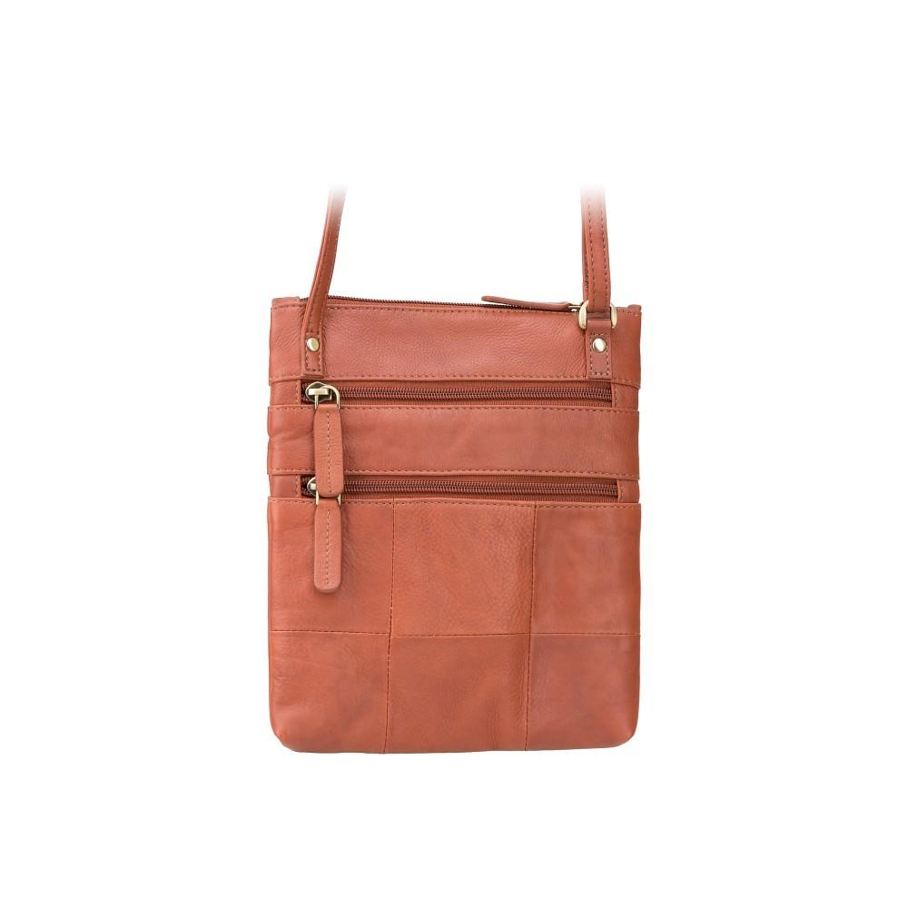 Кожаная сумка Visconti 18606 - (Brown)