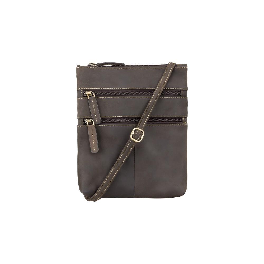 Кожаная сумка Visconti 18606  - (Oil Brown)