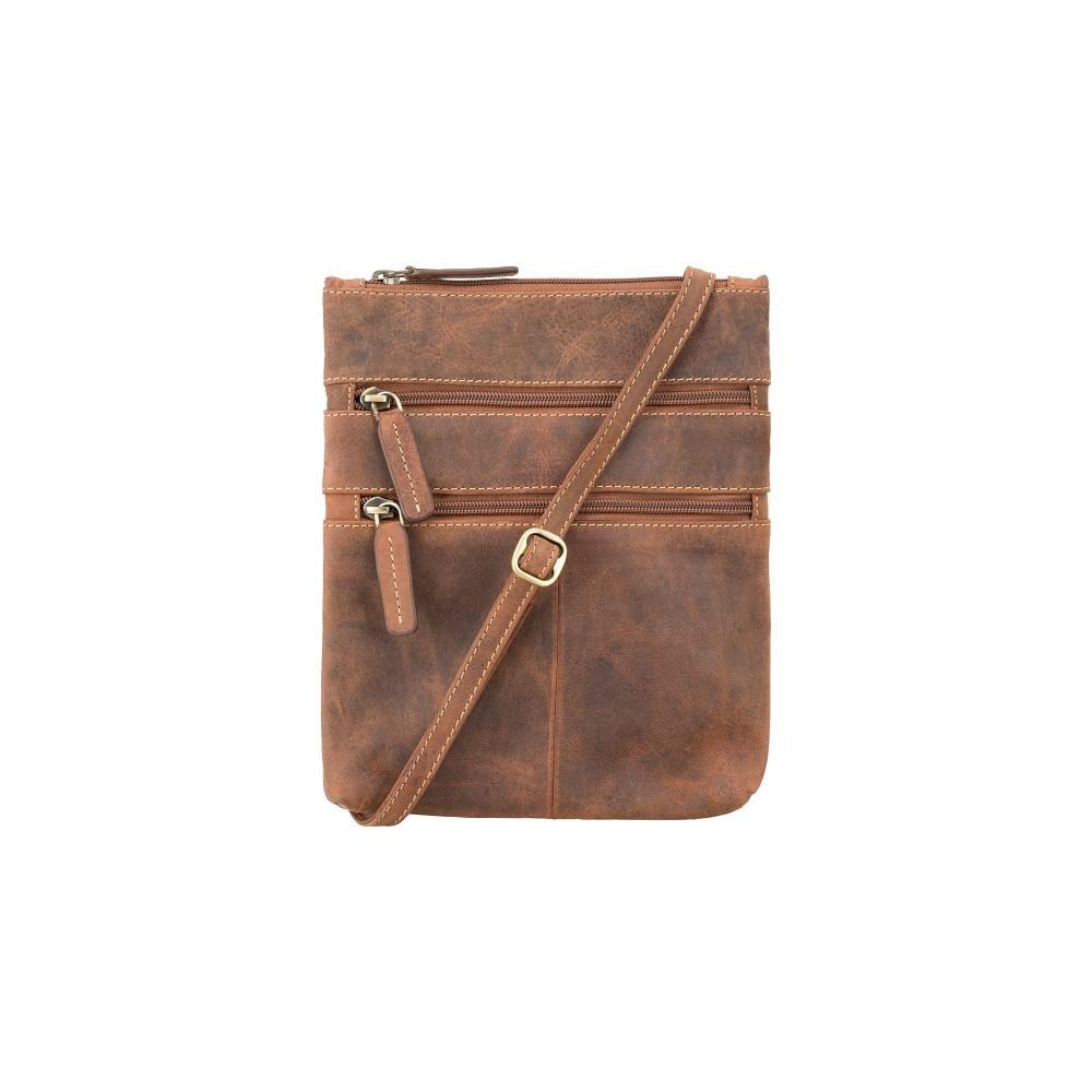 Кожаная сумка Visconti 18606 - (Oil Tan)