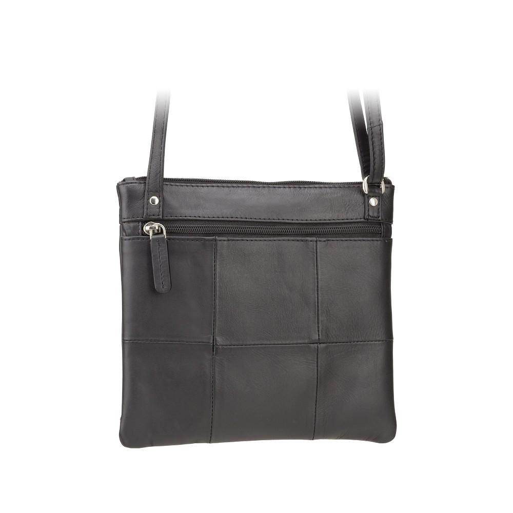 Кожаная сумка Visconti 18608 - (Black)
