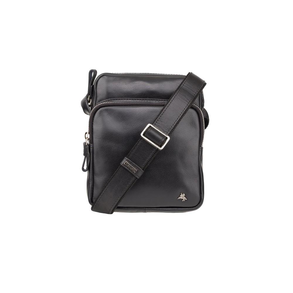 Мужская сумка Visconti ML40 Riley (Black)