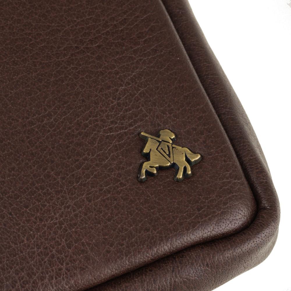 Кожаная маленькая сумка на плечо или пояс Visconti S10 Remi (Brown)