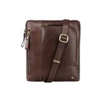 Мужская кожаная сумка Visconti ML-20 - Roy (brown)