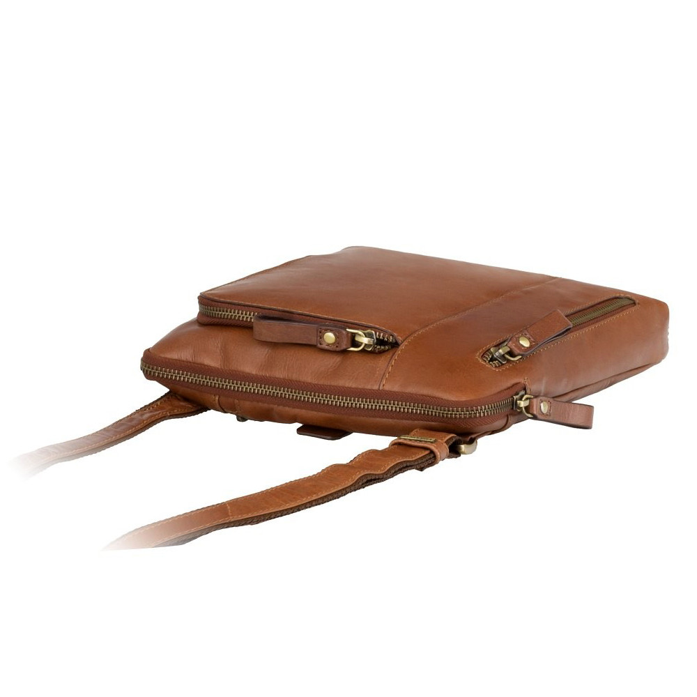 Мужская сумка через плечо Visconti ML20 - Roy (tan)