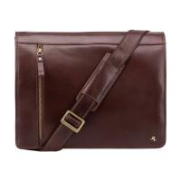 Кожаная сумка для ноутбука Visconti ML-23 - Carter (brown)