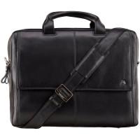 Кожаная сумка для ноутбука Visconti ML-24 - Anderson (black)