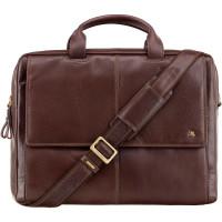 Кожаная сумка для ноутбука Visconti ML-24 - Anderson (brown)