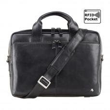 """Сумка для ноутбука 13"""" Visconti ML30 Hugo с защитой RFID (Black)"""