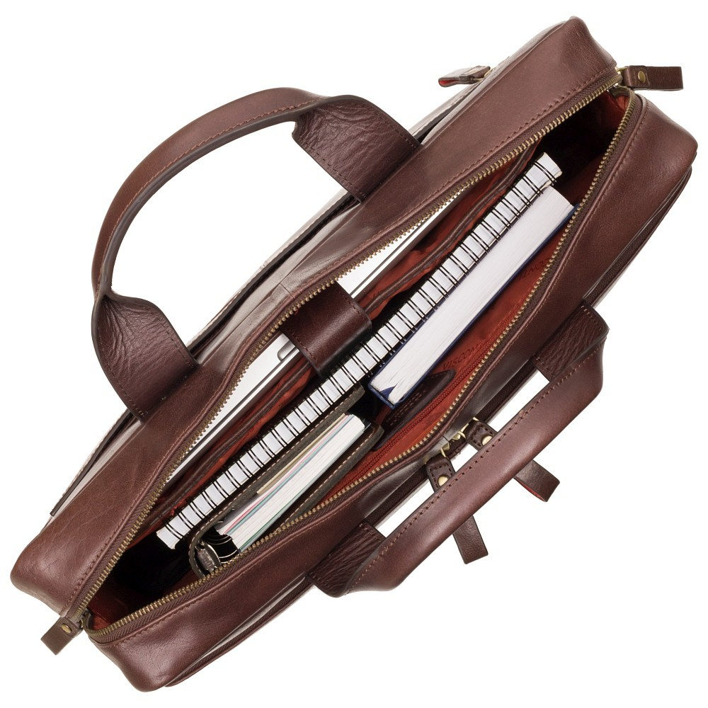 """Сумка для ноутбука 15"""" Visconti ML31 Hugo с защитой RFID (Brown)"""