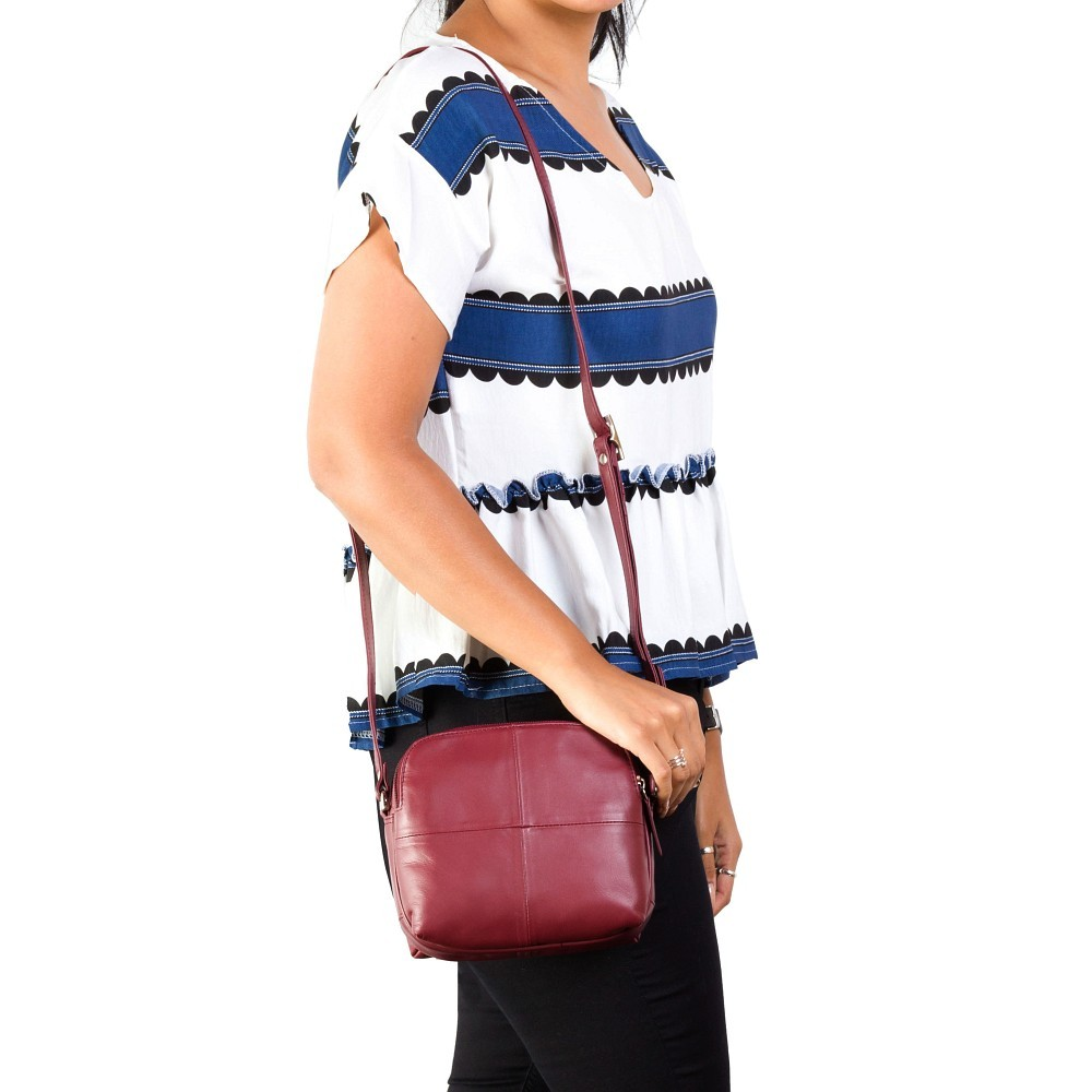 Женская сумка Visconti 18939 - Holly (Red)