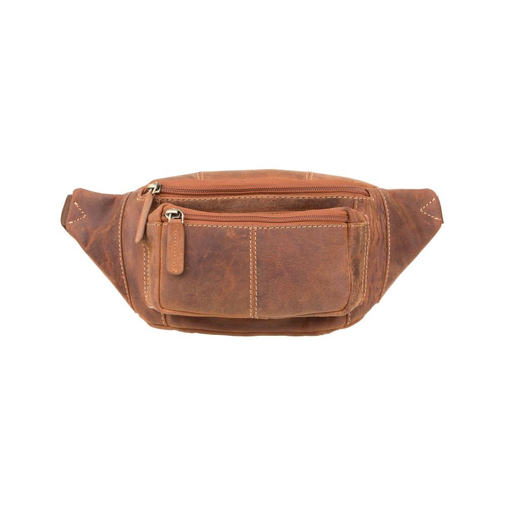Мужская сумка на пояс Visconti 720 - (Oil Tan)