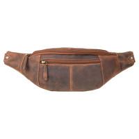 Мужская сумка на пояс Visconti 721 - (Oil Tan)
