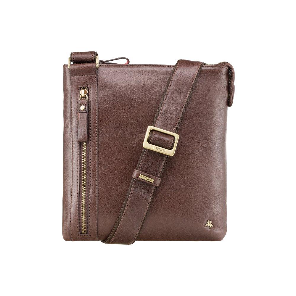 Мужская кожаная сумка Visconti ML25 - Taylor (brown)