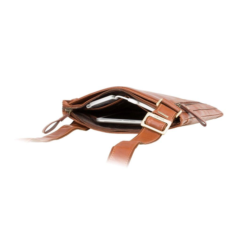 Мужская кожаная сумка Visconti ML25 - Taylor (tan)