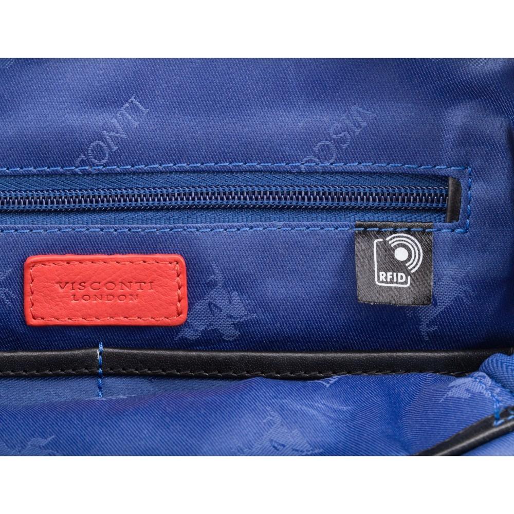 Мужская сумка на плечо Visconti ML36 - Vesper A5 (Black)