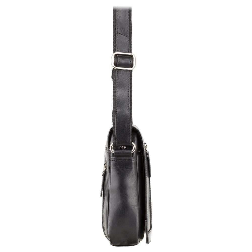 Мужская сумка через плечо Visconti S7 - (Black)