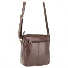 Мужская сумка через плечо Visconti S8 - (Brown)