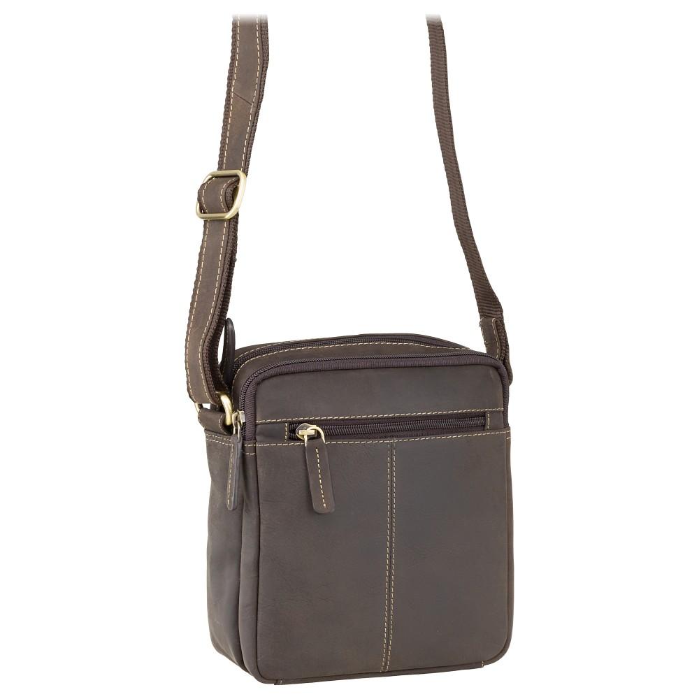 Мужская сумка через плечо Visconti S8 - (Oil Brown)
