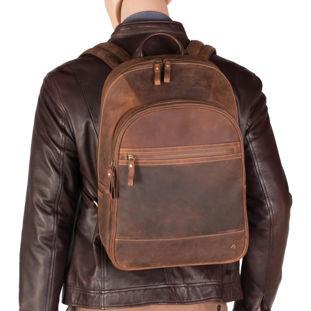 "Рюкзак для ноутбука 13"" Visconti TC80 - Tank (Havana Tan)"
