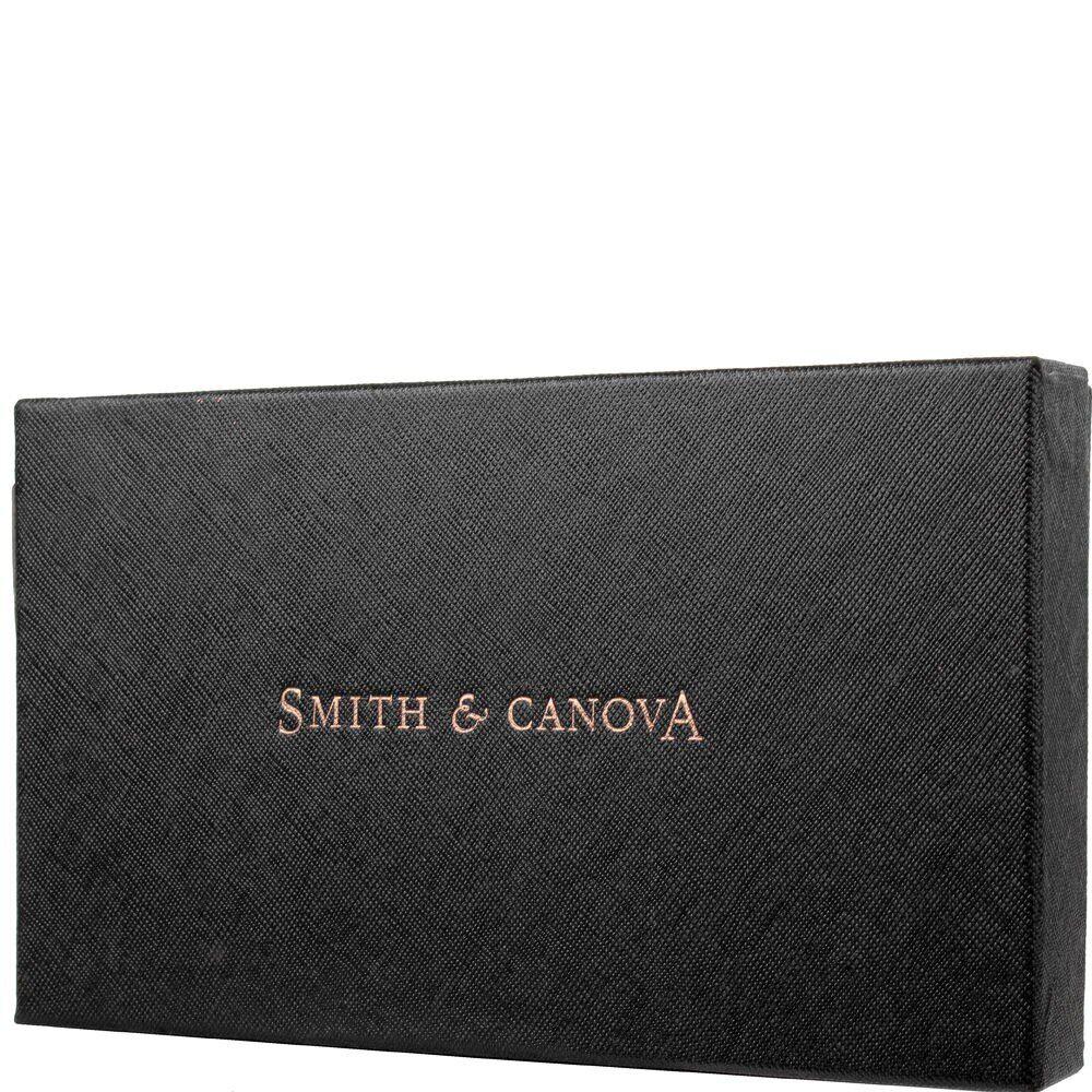 Женский кошелек Smith & Canova 26800 - Althorp (Black-Tan)