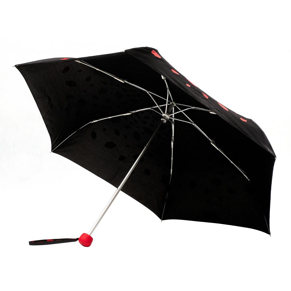 Женский зонт Lulu Guinness by Fulton Minilite-2 L869 Raining Lips