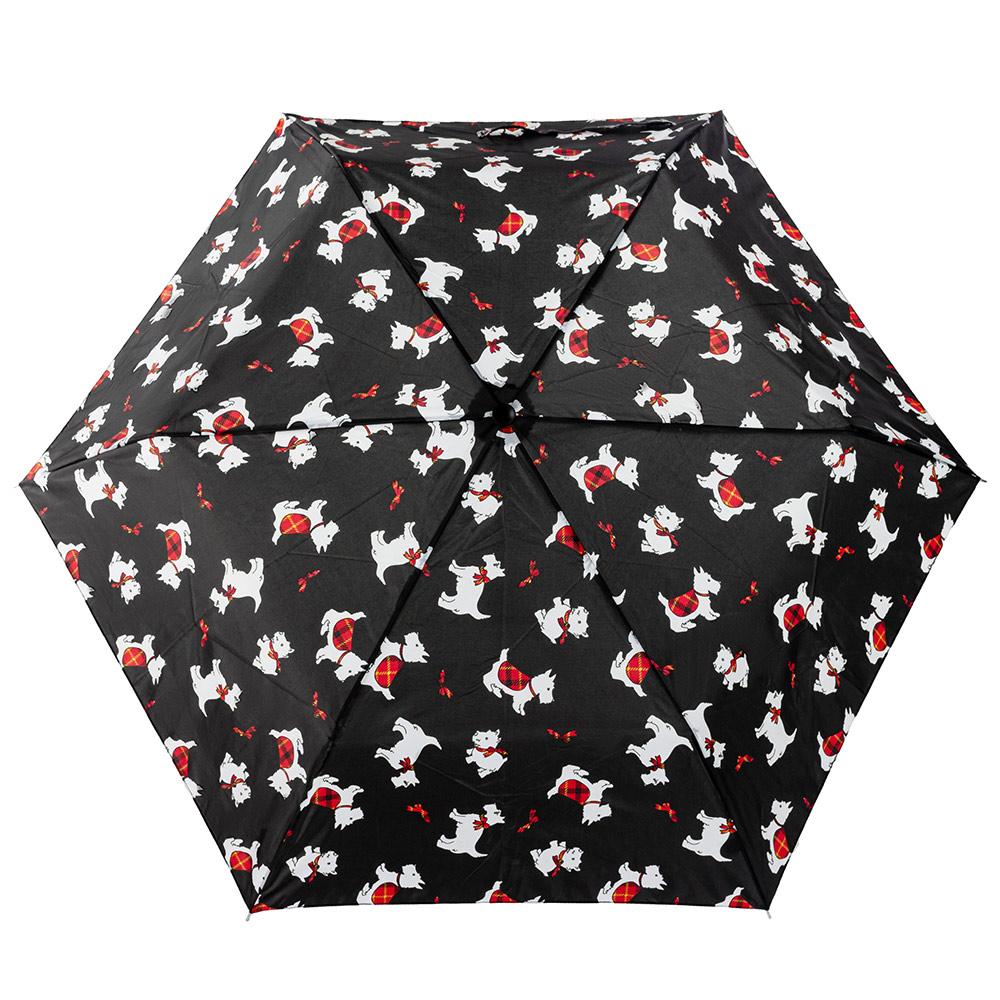 Женский механический зонт Incognito-4 L412 Scottish Scotties (Собаки)