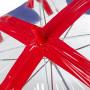 Женский прозрачный зонт-трость Incognito-30 PVC Dome L736 Union Jack (Флаг)