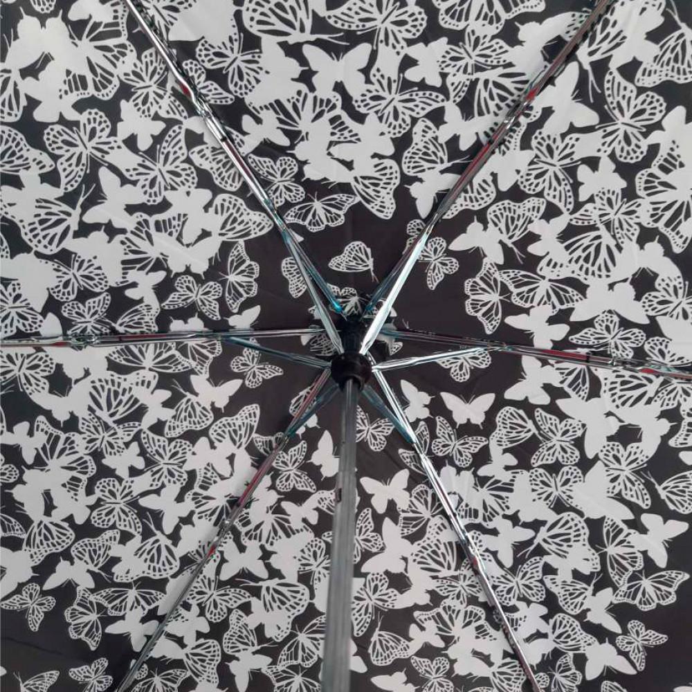 Женский механический зонт Incognito-4 L412 Stencil Butterfly (Бабочки)