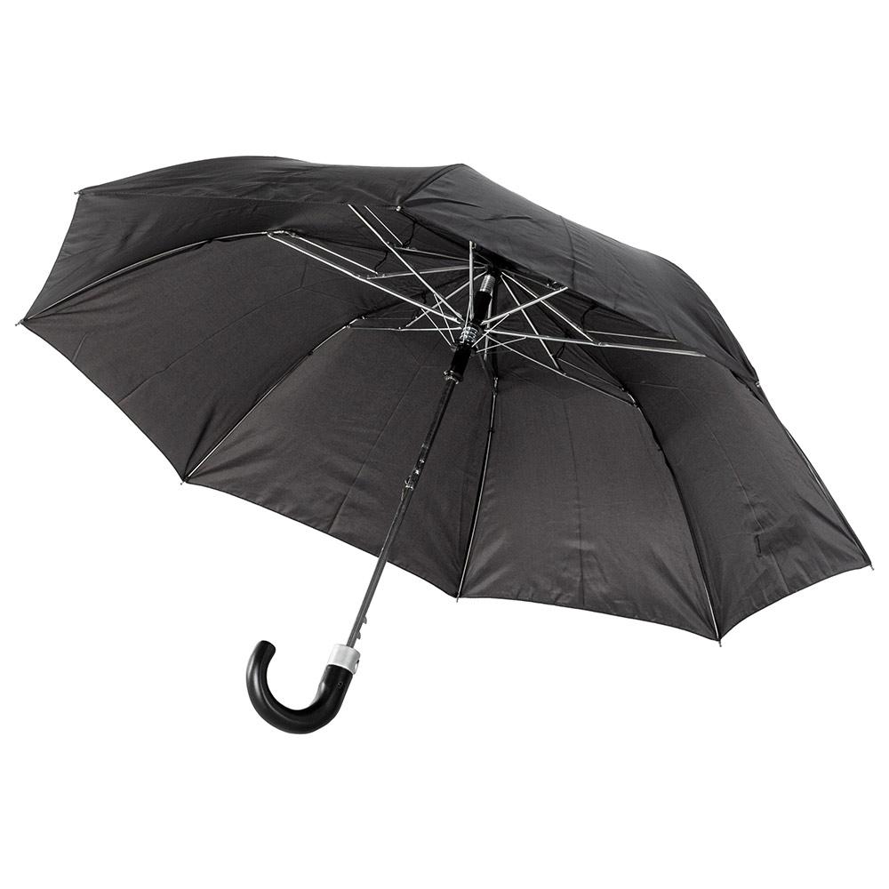 Мужской зонт полуавтомат Incognito-21 G825 Black (Черный)