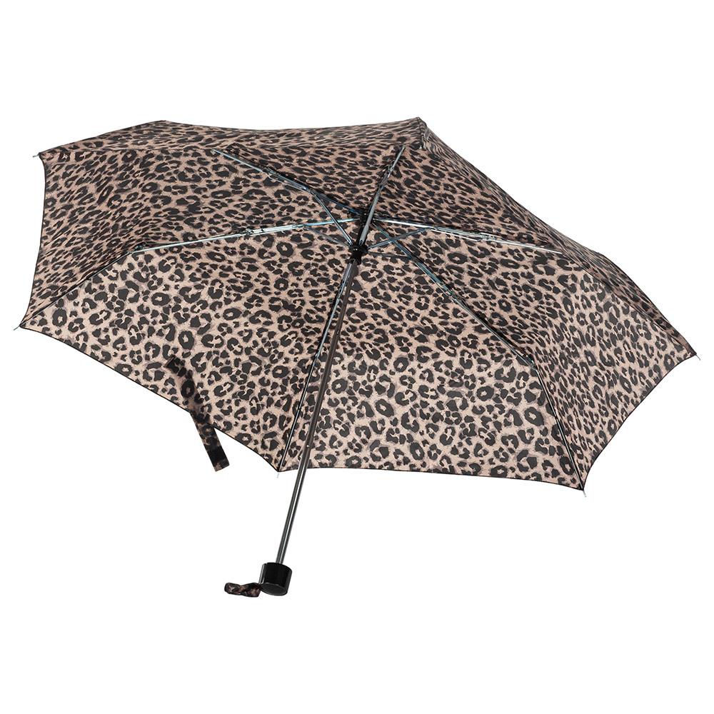Женский механический зонт Incognito-4 L412 Animal (Леопард)