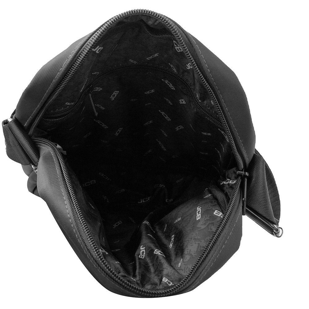 Сумка мужская текстильная  JCB B33 Black (Черный)